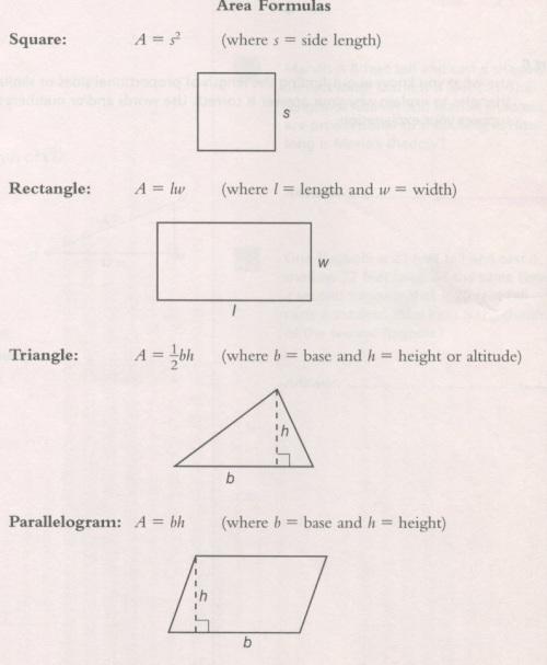 area-formulas